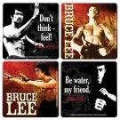 Bruce Lee Wood Coaster Set by Vandor