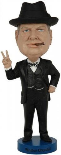 SIR WINSTON CHURCHILL HISTORIC BOBBLEHEAD