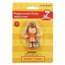 """Peanuts Peppermint Patty 2.5"""" Bendable Keychain by N.J. Croce"""