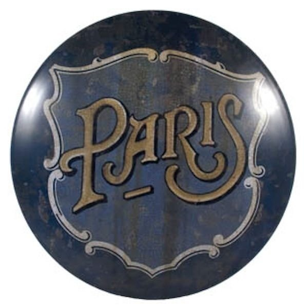 VINTAGE LOOK PARIS SIGN