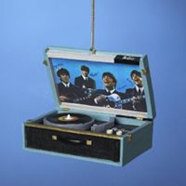 BEATLES REPLICA RECORD PLAYER ORNAMENT