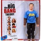 BIG BANG THEORY SHELDON IN A VINTAGE BATMAN T-SHIRT ACTION FIGURE