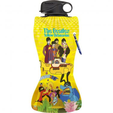 BEATLES YELLOW SUBMARINE 24-OUNCE COLLAPSIBLE WATER BOTTLE