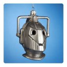 DOCTOR WHO CYBERMEN HEAD GLASS ORNAMENT