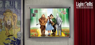 WIZARD OF OZ 75TH ANNIVERSARY ACRYLIC LIGHTCELL