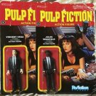Pulp Fiction-Jules & Vincent Set of 2 ReAction 3 3/4 Inch Action Figures