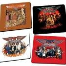 Aerosmith 4 piece Wood Coaster Set