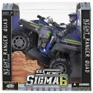 G.I. JOE-SIGMA 6 NIGHT RANGER QUAD 8 INCH DUKE Action Figure
