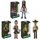Walking Dead - Set of 3 Rick, Daryl, & Micchone Vinyl Idolz Figures