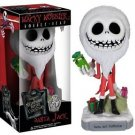Nightmare Before Christmas - Santa Jack 20th year Wacky Wobbler Bobble Head