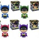 Batman - Batman 75th Anniversary Set of 6 Rainbow Dorbz
