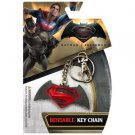 Batman vs. Superman: Dawn of Justice Logo Bendable Keychain