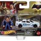 Hot Wheels Batman v Superman: Dawn of Justice Superman  Figure & Metropolis PD