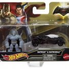 Hot Wheels Batman v Superman: Dawn of Justice Armored Batman  Figure & Batmobile