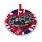 The Beatles - Beatles Love Me Do Disc Porcelain Ornament