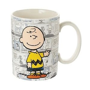 Peanuts-Charlie Brown Comic Mug