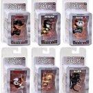 Scalers Series 1 Freddy, Jason, Xenomorph, Predator, Gollum & Gizmo Mini Figures