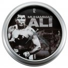 Muhammad Ali Large Metal Wall Clock