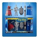 Dr. Who - Doctor Who 2D assorted set of 5 Ornaments in Gift Box