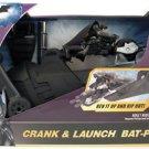Batman Dark Knight - Crank & Launch Bat-Pod with Batman Figure