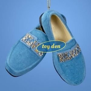 Elvis Presley - Blue Suede Shoes Ornament