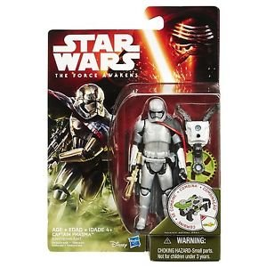 Star Wars - The Force Awakens Captain Phasma Forest Mission Action Figure