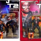 TERMINATOR 2 - Movie Maniacs T-1000 & T-800 SET of (2) ACTION FIGURES