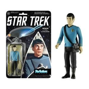 Star Trek - SPOCK ReAction 3 3/4-Inch Retro Action Figure