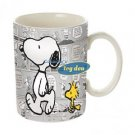 Peanuts-Comic Strip Snoopy & Woodstock Mug