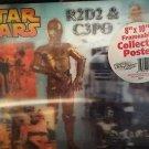"Star Wars - C3PO & R2D2 VividVision 8"" x 10"" Frameable Hologram Poster"