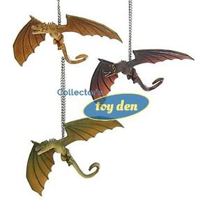 Game of Thrones - Dragons 3 pc Ornament Set