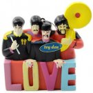 Beatles - Yellow Submarine Sergeant Pepper Band LOVE Ornament