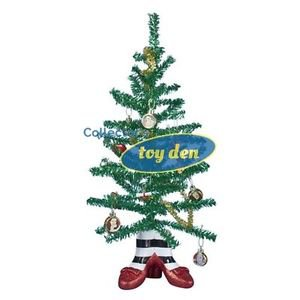 Wizard of Oz - Witch Legs 18-Inch Mini Tinsel Tree