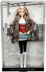Andy Warhol - Campbell's Soup Can Collector Barbie Doll