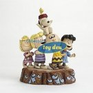 "Peanuts-65th Anniversary Jim Shore Peanuts Gang ""Hooray"" Statue"