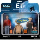E.T., The Extra Terrestrial - E.T., Elliott, Gertie Boxed Set of 3 ReAction Figu