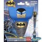 DC Comics - Batman 3 Piece Bowl/Tumbler/Spoon Mealtime Set