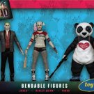 DC Comics - Suicide Squad Bendable Action Figure Boxed Set