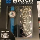 DC Collection - Harley Quinn Suicide Squad Tattoo Parlor Hero Collector Watch