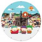 """South Park - 13.5 """" Cordless Wood Wall Clock"""
