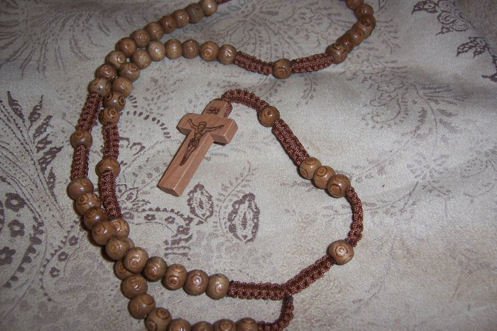 Fragrant Wood Rosary