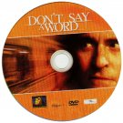 Don't Say A Word (2001) - Widescreen Edition