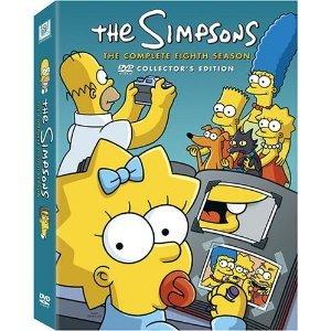 The Simpsons: Season 8 (1989) - 4-disc Full Screen Edition