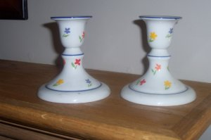 Candle Stick Holders {Pair of 2}