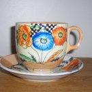 Lustre Tea Cup & Saucer