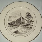 First Church of Greenville Pennsburg St Philip Neri Limited Edition Plate