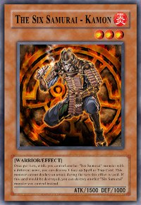 The Six Samurai - Kamon (For use in Yugioh Online 2 ONLY)