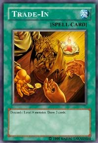 Trade-In (For use in Yugioh Online 2 ONLY)