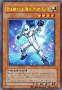 Elemental Hero Neos Alius (For use in Yugioh Online 2 ONLY)