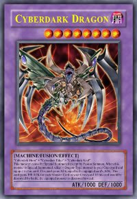 Cyberdark Dragon (For use in Yugioh Online 2 ONLY)